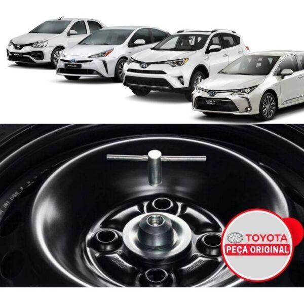 Trava de segurança do estepe - Prius, Corolla, Corolla Cross